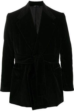 Dolce & Gabbana Notch-lapel tie-waist jacket
