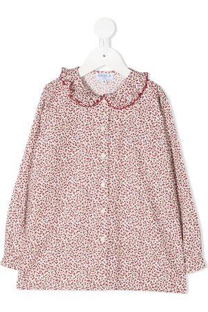 SIOLA Floral print long-sleeved shirt
