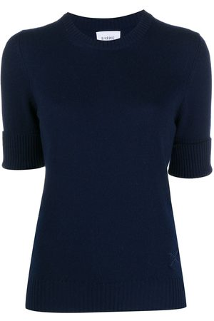 Barrie Short-sleeved cashmere jumper