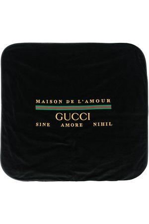 Gucci Maison De L'Amour Web logo blanket