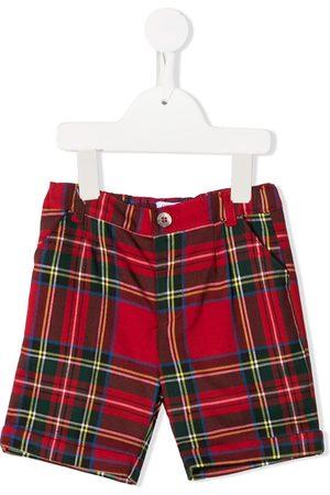 SIOLA Tartan print shorts