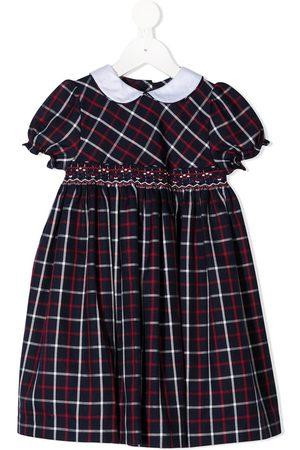SIOLA Check print peter pan collar dress