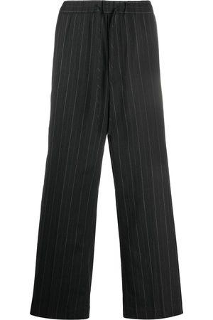 JUUN.J Pinstripe wide leg trousers