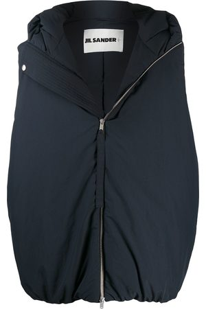Jil Sander Oversized hooded gilet