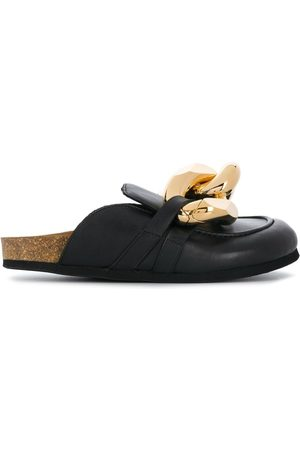 J.W.Anderson Chain loafer mules