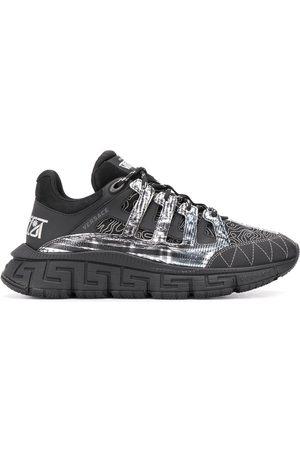 VERSACE Multi-panel design sneakers