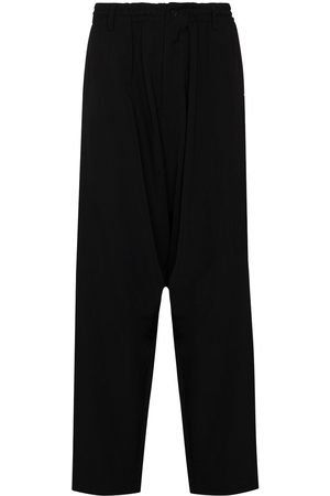 YOHJI YAMAMOTO Multi-zip detail wool trousers
