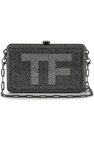 Tom Ford Vintage Logo crystal-embellished clutch bag