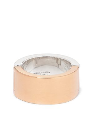 Bottega Veneta Sterling and Gold-Plated Ring