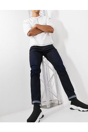 G-Star 3301 straight tapered fit jeans in dark wash