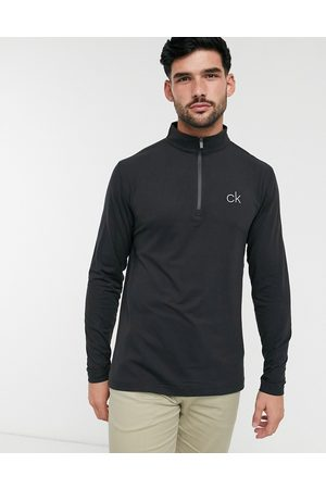 Calvin Klein Newport half zip top in