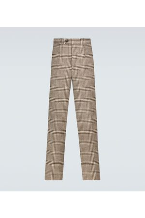 EDITIONS M.R Men Formal Pants - Nathan cropped wool pants
