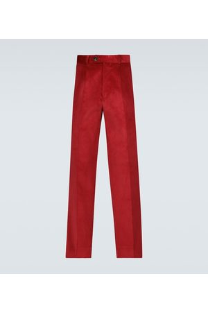 EDITIONS M.R Nathan cropped wool pants