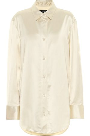 Joseph Women Long Sleeve - Bernel satin shirt