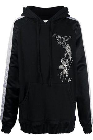 GREG LAUREN Souvenir-jacket hoodie