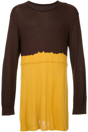 Comme des Garçons Two-tone knitted top