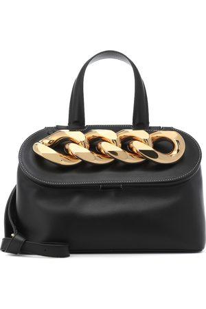 J.W.Anderson Chain Lid leather shoulder bag
