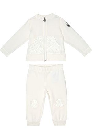 Moncler Baby sweatshirt and trackpants set