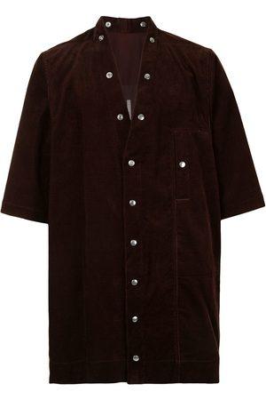 Rick Owens Short-sleeved button-up shirt