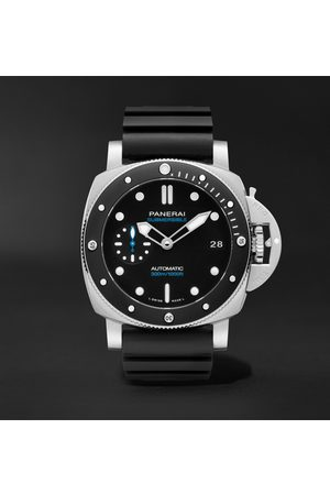 PANERAI Submersible Automatic 42mm Stainless Steel and Rubber Watch