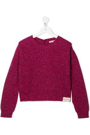 Marni Ribbed long-sleeve jumper