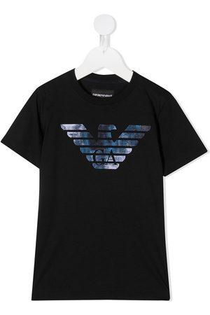 Emporio Armani Logo-print short sleeved T-shirt