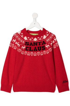 MC2 SAINT BARTH Douglas intarsia knit jumper