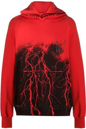 MJB - MARC JACQUES BURTON Lightening oversized hooded sweatshirt