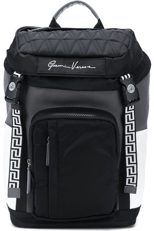 VERSACE Greca detail backpack