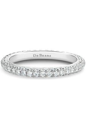 De Beers 18kt gold DB Darling eternity diamond band