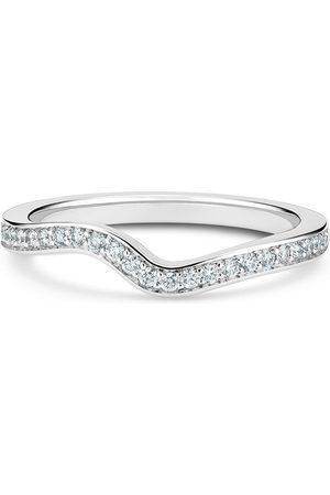 De Beers Platinum Caress diamond band