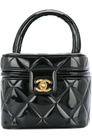 CHANEL Quilted square cosmetic bag