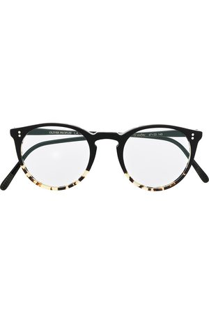 Oliver Peoples O' Malley round frame glasses