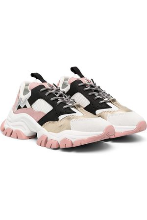 Moncler Panelled chunky-sole sneakers