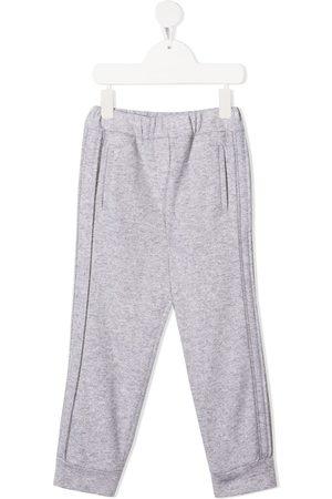 Brunello Cucinelli Cashmere-blend track pants