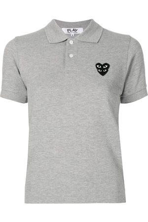 Comme des Garçons Logo patch polo shirt