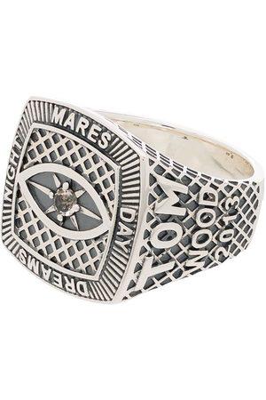 TOM WOOD Logo-engraved sterling ring