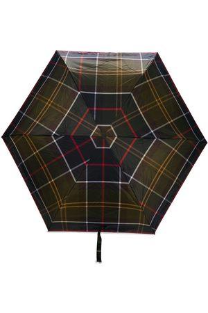 Barbour Small tartan-print umbrella