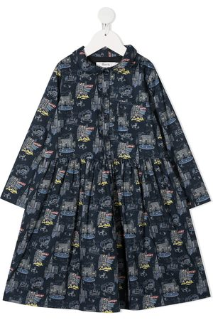 BONPOINT New york print dress