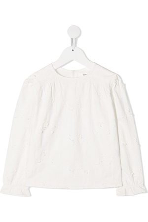 BONPOINT Floral-embroidered blouse