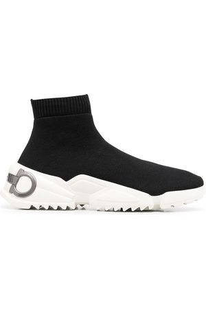 Salvatore Ferragamo Gancini slip-on sneakers
