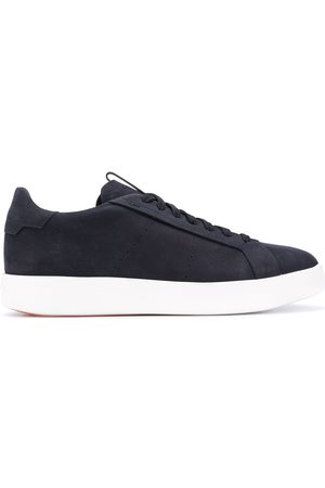 santoni Smooth lace-up sneakers