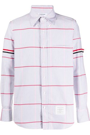 Thom Browne Oversized check oxford shirt