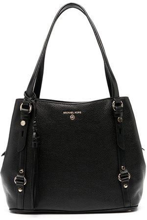 Michael Kors Carrie Large Pebbled Shoulder Bag