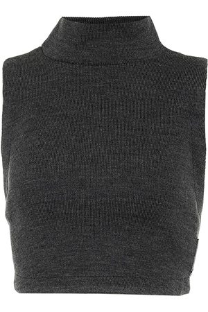 NOIR KEI NINOMIYA Sleeveless crop top