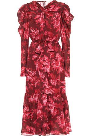 ZIMMERMANN Ladybeetle floral midi dress