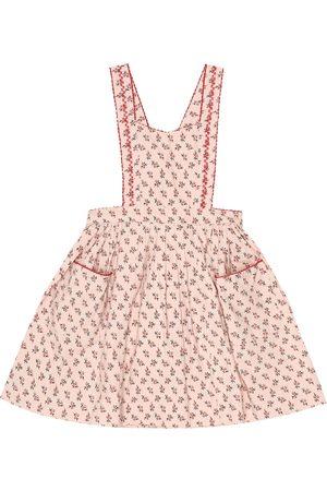 Caramel Goose floral stretch-cotton dress