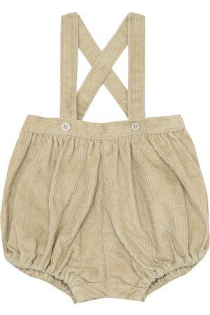 Caramel Baby Dunlin corduroy overalls
