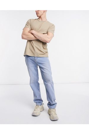 ASOS Dad jeans in vintage light wash