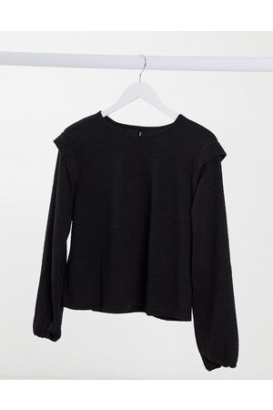Only Sweat top with shoulder detail in